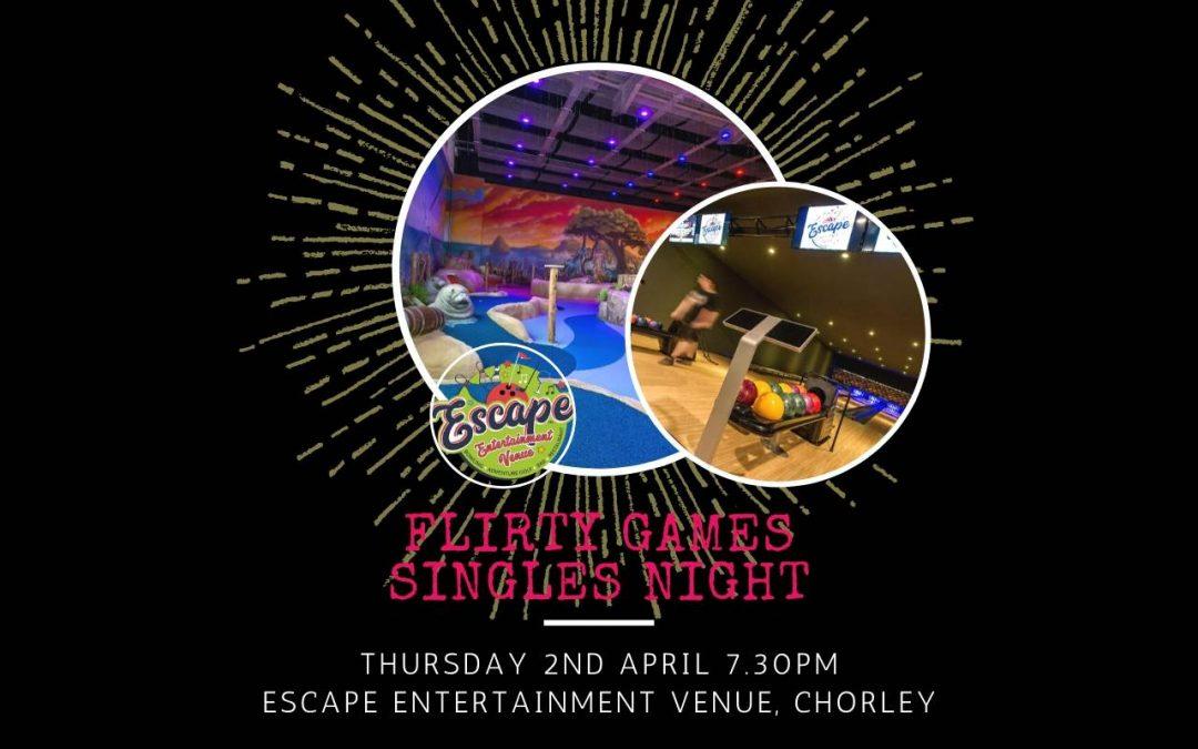 Bowling and Mini Golf Singles Night – Escape Chorley